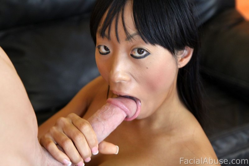 Abused japanese chick fucked in red rope and cream pied 5