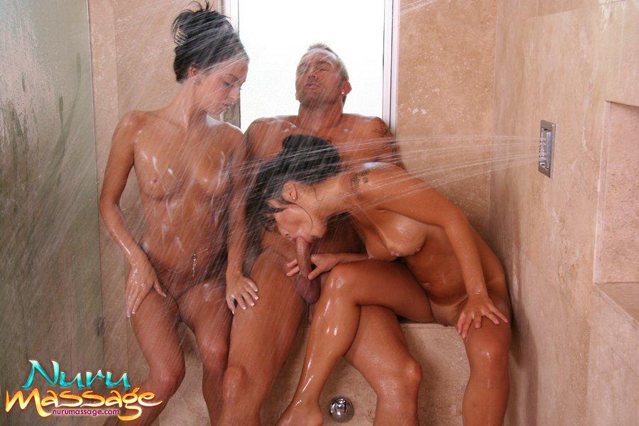 Asian Big Tits Threesome